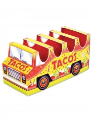 Centre de table en carton 3D camion tacos 12 x 25 cm