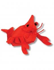 Chapeau homard rouge adulte