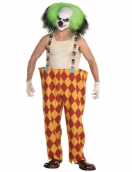 Déguisement clown sinistre homme