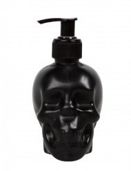 Distributeur de savon crâne noir