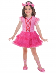 Déguisement petite ballerine rose fille