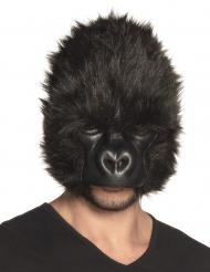 Masque gorille peluche adulte