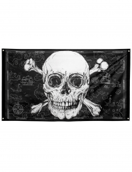 Drapeau Pirate Jolly Roger 90 x 150 cm