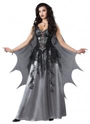 Déguisement comtesse vampire noire femme