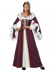 Déguisement reine de conte de fées femme