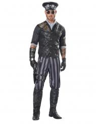 Déguisement capitaine steampunk homme