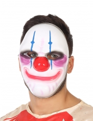 Masque clown sourire terrifiant adulte