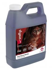 Bouteille de faux sang rouge 3,7 L