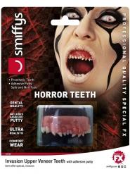 Dentier parasite luxe ultra réaliste adulte