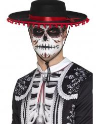 Sombrero Dia de los Muertos adulte