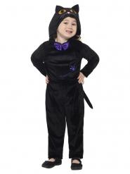 Déguisement chat noir velours enfant