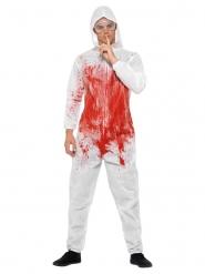 Déguisement serial killer sanglant homme