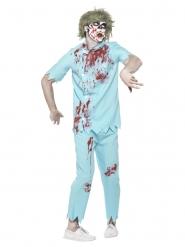 Déguisement avec accessoires dentiste zombie homme