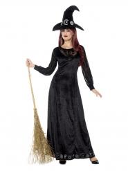 Déguisement de sorcière charmante femme