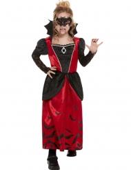 Déguisement vampire gothique masquée fille