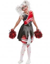 Déguisement Cheerleader zombifiée femme