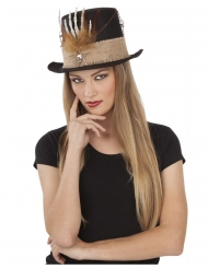 Chapeau main squellette 59 cm adulte