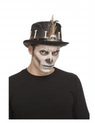 Chapeau haut de forme vaudou 59 cm adulte