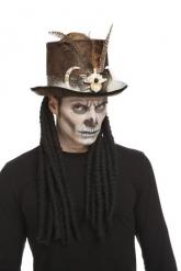 Chapeau sorcier vaudou 59 cm adulte