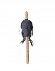 Sceptre tête réduite 50 x 13 x 13 cm