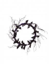 Couronne décorative chauve-souris 51 x 51 x 3 cm