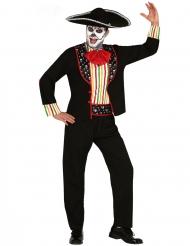 Déguisement mariachi Dia de los muertos homme