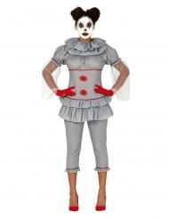 Déguisement clown psychopathe pantalon femme