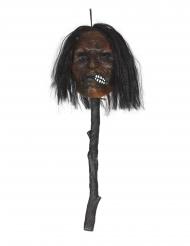 Bâton tête empalée lumineux 53 cm