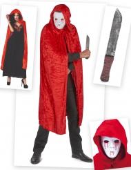 Pack déguisement de tueur sanglant adulte