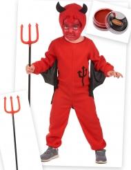 Pack déguisement diablotin rouge enfant
