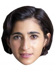 Masque en carton braqueur Alba Flores