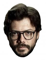 Masque en carton Álvaro Morte