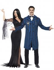 Déguisement de couple de famille gothique Halloween