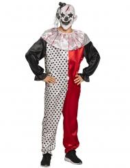 Déguisement clown psycho adulte