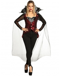 Déguisement ensemble vampiresse femme