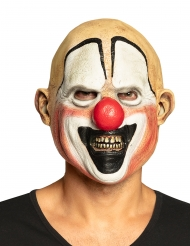 Masque intégral latex clown tueur adulte