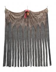 Rideau avec crâne pirate 200 x 150 cm