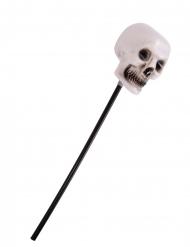 Sceptre crâne squelette 55 cm