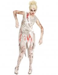 Déguisement miss monde zombie femme