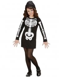 Déguisement squelette glamour fille
