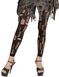 Legging lambeaux zombie femme