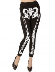 Legging squelette femme