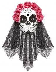 Masque intégral Dia de los muertos adulte