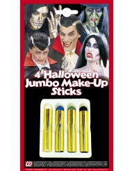 Set 4 crayons maquillage halloween 21 ml