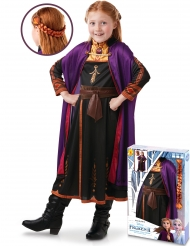 Coffret déguisement et tresse Anna La reine des neiges 2™ fille