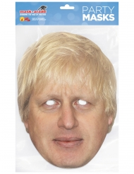 Masque carton Boris Johnson