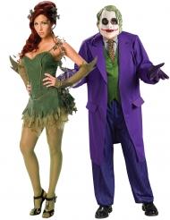Déguisement de couple Poison Ivy™ et Joker™ adulte