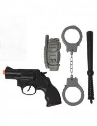 Kit policier 4 pièces
