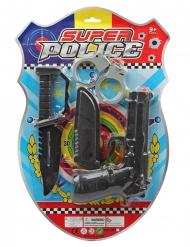 Kit policier intervention 4 pièces