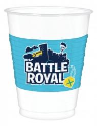 8 Gobelets en plastique battle royal 473 ml